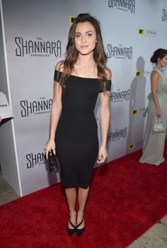 Poppy Drayton at the premiere of The Shannara Chronicles in LA