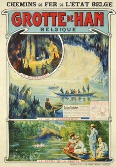Chemins de fer de l'état belge, Grotte de Han