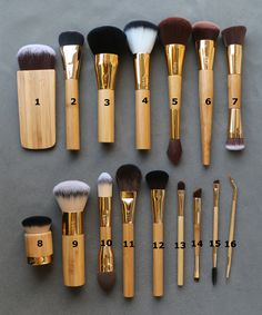 Brand 16 pcs 100% Tarte makeup brushes Synthetic Hair blush powder foundation contour make up brush kit pinceis maquiagem.-in Makeup Brushes & Tools from Health & Beauty on Aliexpress.com | Alibaba Group