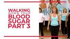 Walking Down Your Blood Sugar (Part 3) | Walk At Home Fitness Videos Easy Workouts, At Home Workouts, Youtube Workout Videos, Leslie Sansone, Walking Exercise, Walking Workouts, Senior Fitness, Workout Challenge, Workout Ideas