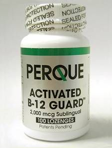 ACTIVATED B-12 GUARD™ 2000 MCG 100 LOZ (B12S4) – NUTRIMENTRX
