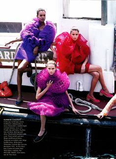US VOGUE July 2000 The New Guard Ph: Steven Meisel