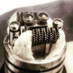 Zipper coil build