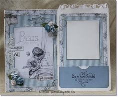 Konfirmasjonskort med papirer fra www. Shabby, Cardmaking, Creative, Frame, Decor, Cards, Picture Frame, Decoration, Decorating