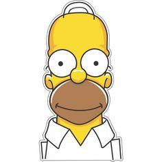 Adesivo Homer Simpson