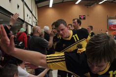 Handball Brandenburg League match at Müllrose Sports Hall.