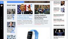 """""""New York Times""""-Designstudie gibt dem Leser die Möglichkeit, sich seine Startseite selber zu konstruieren. (Screenshot: Tema Troinoi)"""