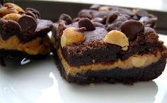 The Growing Foodie: Sassy Sweets: Chocolate Peanut Butter Bars
