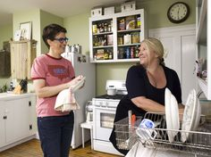 Yes, I have a crush on Rachel Maddow. I really have a crush on her kitchen though. So kitschy.
