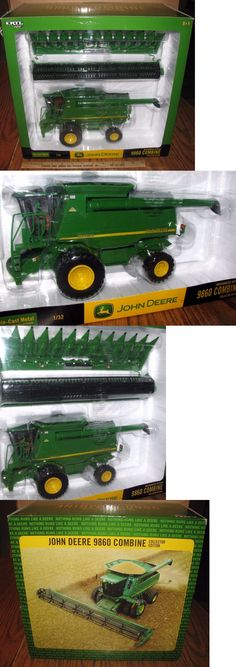Vintage Manufacture 741: John Deere 9860Sts Combine 1 32 Ertl Toy #15520A Issued 2003 Collector Edition -> BUY IT NOW ONLY: $113.39 on eBay!