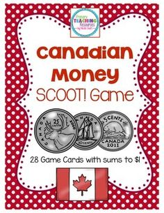 Money Tree Lottery Tickets - - Money Manifestation Crystals - Money Manifestation Tips Money Activities, Money Games, Third Grade Math, Grade 2, Learning Money, Primary Teaching, Teaching Resources, Teaching Ideas, Canadian Coins