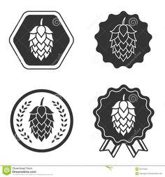 Hop craft beer symbol