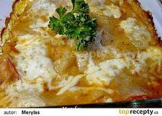 Domácí celozrnné lasagne zapečené s kuřecím masem recept - TopRecepty.cz Mashed Potatoes, Ethnic Recipes, Lasagna, Whipped Potatoes, Smash Potatoes