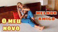 O MEU NOVO MELHOR AMIGO! #youtube #youtubechannel #youtuber #youtubers #colchão #cama #bed #bedroom #bedroomideas Youtubers, Guy Best Friend, Friends