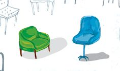 chairs, sketching