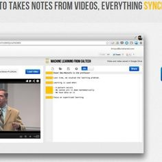 #VideoNotes #websummit #elearning #startup  to take notes synchronized with videos!
