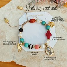 Friendship Bracelets Designs, Bracelet Designs, Cross Art, Catholic Jewelry, Fabric Jewelry, Cute Art, Handmade Jewelry, Bauble, Crafts