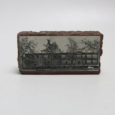 A brick from Donelson High School. This brick originally comes from Donelson High School in Nashville, Tennessee. It features a picture of the school on the front. Nashville, Tennessee, Brick, High School, Grammar School, High Schools, Bricks, Secondary School, Middle School