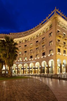 Electra Palace Hotel Thessaloniki, built in one of the most impressive city squares, overlooking the sea, is one of Thessaloniki's best hotels and architectural gems. Palace Hotel, Hotel S, Grand Hotel, Thessaloniki, Greece Travel, Far Away, Best Hotels, Countryside, Colorado