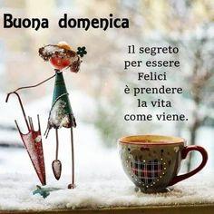 foto domenica Good Morning Facebook, Happy Morning, Happy Weekend, Happy Friday, Season Quotes, Italian Memes, Photo P, Osho, New Years Eve Party