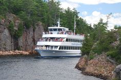 May 2020 - Enjoy a captain's-eye view of Georgian Bay's Islands Biosphere Reserve aboard the Island Queen. We offer two and three-hour sightseeing cruises that bring passengers surprisingly. Island Cruises, Bay Photo, Ontario, Trip Advisor, Travel Destinations, Canada, Boat, Queen, Park