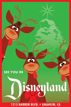 See You in Disneyland: Silly Reindeer | Flickr - Photo Sharing!