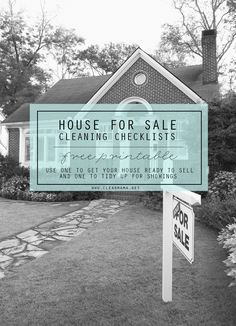 Gearing up to sell your home and looking for an easier way to get ready for showings and open houses? Use this FREE printable and make life easier!
