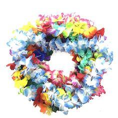 BOSHENG Hawaiian Colorful Luau Flower Leis Necklaces for ... https://www.amazon.com/dp/B01GBZJ3E6/ref=cm_sw_r_pi_dp_Qo3wxbWYSHJTJ