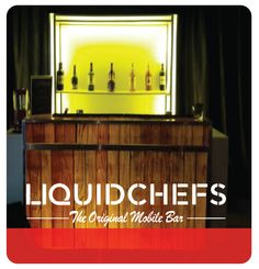#liquidchefs Mobile Bar, Liquor Cabinet, Buffet, Events, The Originals, Storage, Furniture, Home Decor, Style