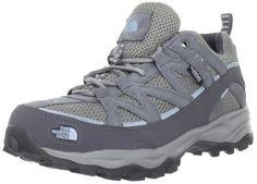 "North Face Tyndall WP Womens Size 8.5 Gray Mesh Synthetic Trail Running Shoes The North Face. $89.95. Material: Mesh Upper and Man-Made Outsole. manmade sole. Width: B. Color: KC0-Zinc Grey/Pale Blue. mesh. This shoes / sandals / boots style name or model number is Tyndall WP. Measurements: 1"" heel"