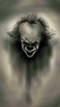 It Wallpaper hd and Pennywise Wallpaper HD 2020 it background it lock screen it lockscreen it live wallpaper Pennywise background Pennywise lock screen Pennywise lockscreen Pennywise live wallpaper Arte Horror, Horror Art, Horror Movies, Pennywise Tattoo, Pennywise The Dancing Clown, Evil Clown Tattoos, Horror Drawing, Horror Icons, Creepy Clown