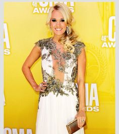 Carrie underwood  Love the makeup and hair!