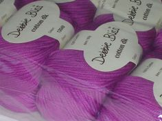 Debbie Bliss Cotton DK Yarn 10 skeins by creativemoments on Etsy, $50.00
