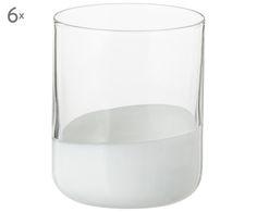 Cheers! Stoßen Sie an mit Wassergläsern Spot (6er-Set) in Weiß, Transparent. Bestellen Sie ausgefallene und dekorative Gläser von BITOSSI jetzt auf >> WestwingNow.