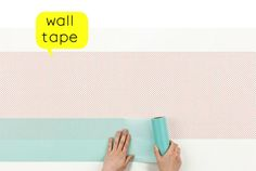 So here's the new generation of wall papers.  Basically SINCOL x mt is like a giant washi tape that allows you to turn a wall into a canvas.  The possibilities are endless ;)