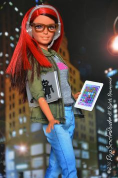Barbie Game Developer I adore this nre carrer of Barbie!! the Doll is amazing :3 #TheDollsEvolves #barbiestyle #barbie #thebarbielook #barbiegamedeveloper #icanbe #YouCanBeAnything