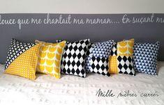 Bow Pillows, Grey Pillows, Sewing Pillows, Couch Cushion Covers, Diy Cushion, Pillow Covers, Home Decor Furniture, Custom Furniture, Decoupage Box