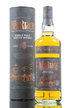 This new 10 year old Scotch whisky marks a significant milestone for the owners of BenRiach distillery. Since purchasing the distillery back in 2004, Billy Walker and his team have been working towards this release, which will become the cornerstone of their core range. Created predominantly from whisky distilled under the new ownership. The new 10 year old has been created from whisky matured in casks that previously held bourbon and sherry, bottled at 43% vol.