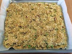 Liian hyvää: Pellillinen kauratosca-raparperipiirakkaa Macaroni And Cheese, Bread, Ethnic Recipes, Food, Mac And Cheese, Brot, Essen, Baking, Meals