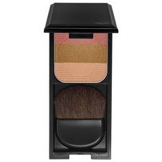Shiseido - Face Color Enhancing Trio in Light Contouring, Face Contouring, Highlighter Makeup, Skin Makeup, Blush, Contour Palette, Summer Glow, Shiseido, Beauty Secrets