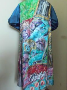 Handpainted Silkcoat Größe M. von aminamarei auf Etsy