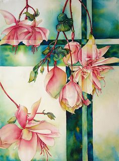 Painting-Watercolor-Sue Primeau: Fantasia
