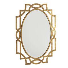 Mirror, Mirror on the Wall - half bath