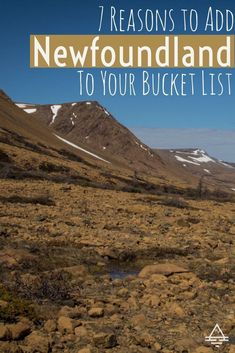 7 Reasons to Add Newfoundland to Your Bucket List 7 Reasons to Add Newfoundland to Your Bucket List<br> Newfoundland, Canada is a spectacular and unique vacation destination. Find out the 7 reasons you need to add Newfoundland to your bucket list today! Newfoundland Canada, Newfoundland And Labrador, Newfoundland Tourism, Alberta Canada, Canada Canada, Ottawa Canada, Montreal Canada, Quebec, Ontario