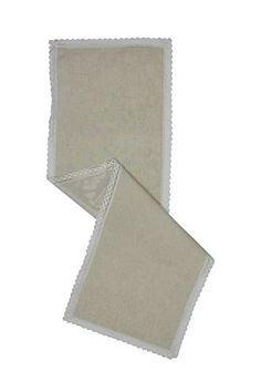 """This 100% pure cotton runner has a lace border and is highly durable, making it suitable for everyday use with the convenience of being machine washable and quick to dry.<div class=""""pdpDescContent""""><BR /><b class=""""pdpDesc"""">Dimensions:</b><BR />L50xW160xH cm<BR /><BR /><b class=""""pdpDesc"""">Wash Care:</b><BR>Lukewarm machine wash</div>"""