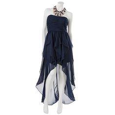 Hailey Logan Embellished Halter Dress