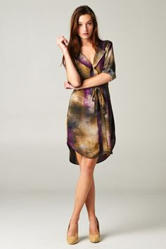 Adrienne Nicole Boutique - Multi Color Dress, $52.00 (http://www.adriennenicoleboutique.com/multi-color-dress/)