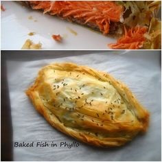 Home Cooking In Montana: Baked Salmon Wrapped in Phyllo (Filo)...or Salmon Parcels.