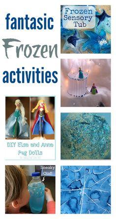 Fantastic Frozen activities for kids