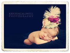 Baby Fascinator.  Please be a girl, please be a girl, please be a girl... (To be clear, not my child)